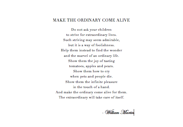 ordinary come alive