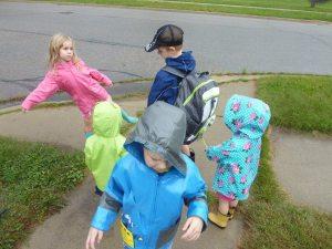 bus stop gang