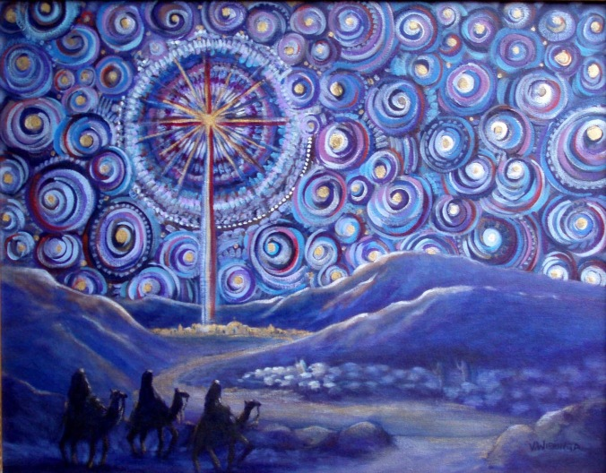 Advent Starry Night 2